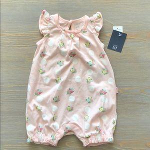 Baby Gap Floral Baby Girl Romper